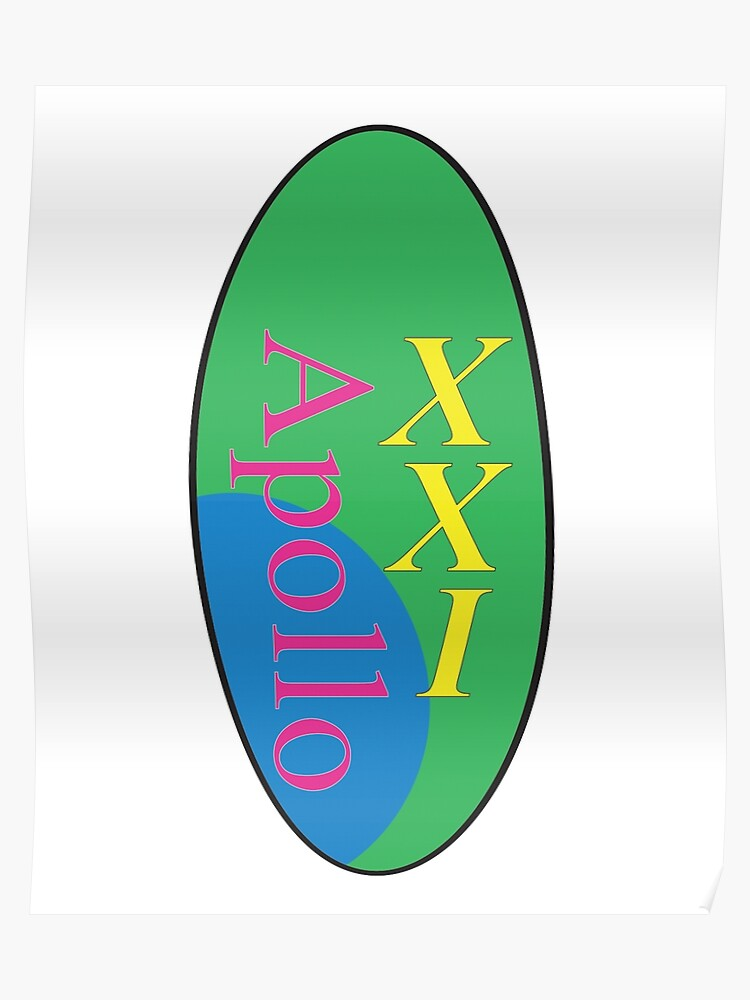 eaac25f274a86 Steve Lacy Apollo XXI Album Art Logo   Poster
