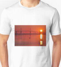 Skyway Bridge at Sunrise, As Is T-Shirt