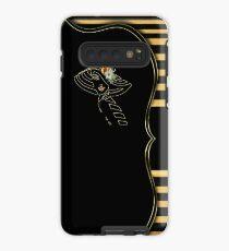 Gatsby Art-Deco Black &Gold Case/Skin for Samsung Galaxy