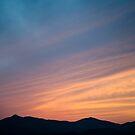 Sunset Mountains by Robert McMahan