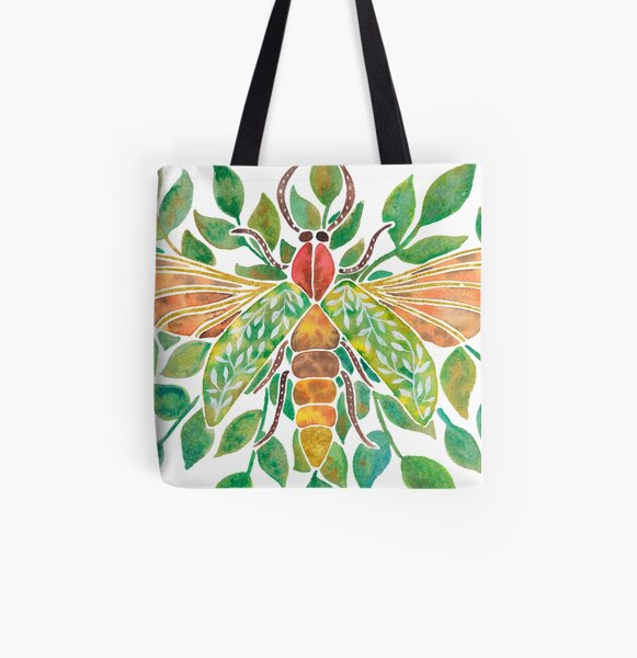 Firefly All Over Print Tote Bag