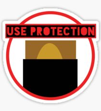 Use Protection MTG Sticker