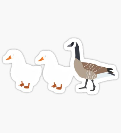 Duck, Duck, Goose Sticker
