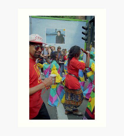 Carnival, Dancing Celebration's. Art Print