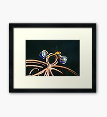 Double Dragonfly Framed Print