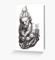 Akuma Great Demon Greeting Card