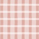 Dusty Rose Jagged Edge Plaid by WRosesPatterns