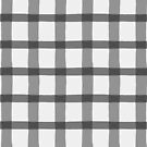 Grayscale Jagged Edge Plaid by WRosesPatterns