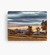 Once Upon A Sky Canvas Print