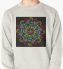 berries and roses mandala Pullover Sweatshirt