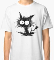 Black Unkempt Kitten GabiGabi Classic T-Shirt