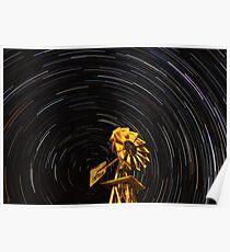 Windmill vortex Poster