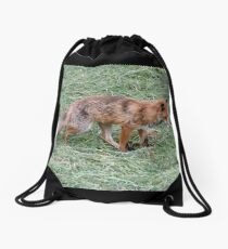 A Fox Drawstring Bag