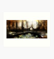 Abstract scifi Art Print