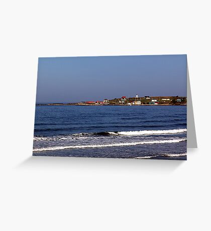 Morning - Cape St. Mary Greeting Card