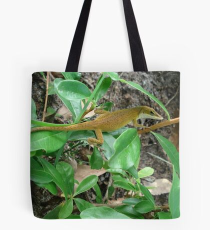 August Anole Tote Bag