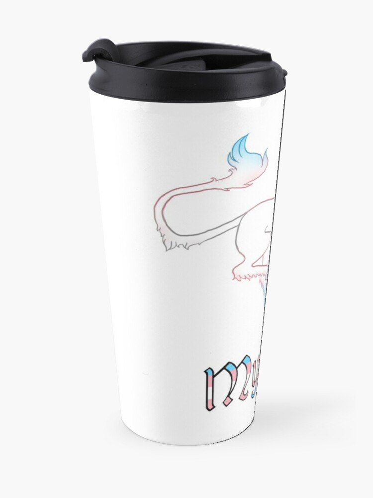 Alternate view of Mythical Travel Mug