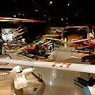A Air Museum Scene... by Larry Llewellyn