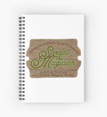 Sardos the Magician Spiral Notebook