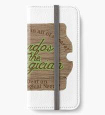 Sardos the Magician iPhone Wallet/Case/Skin
