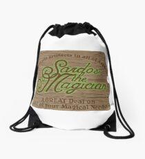 Sardos the Magician Drawstring Bag