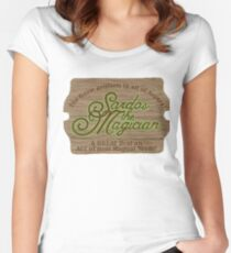 Sardos the Magician Fitted Scoop T-Shirt
