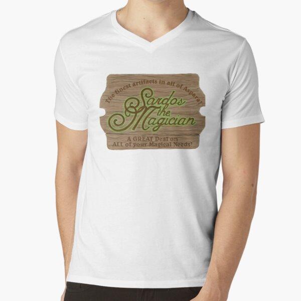 Sardos the Magician V-Neck T-Shirt
