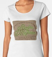 Sardos the Magician Premium Scoop T-Shirt