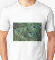 Peacock Feathers, As Is T-Shirt
