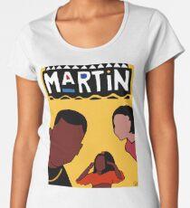 Martin (Yellow) Premium Scoop T-Shirt