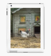 A smart chicken house iPad Case/Skin