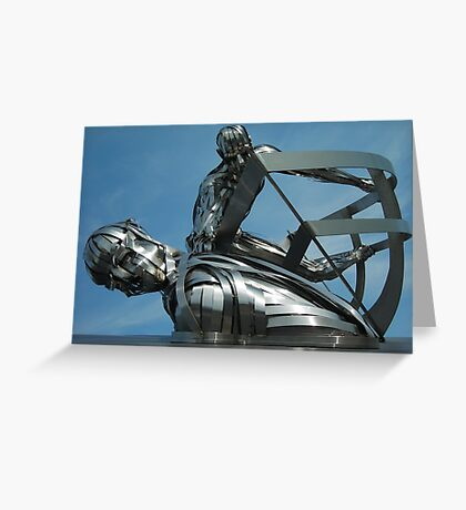 RNLI Memorial Sculpture Greeting Card