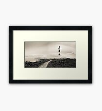Tarbat Ness Lighthouse, Scotland Framed Print