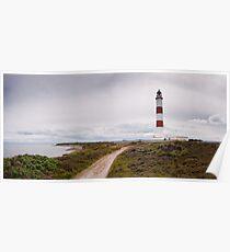 Tarbat Ness Lighthouse, Scotland Poster