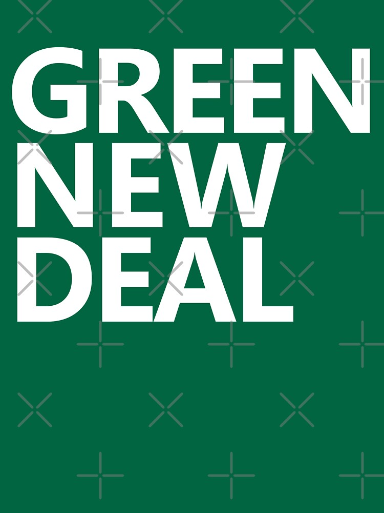 Green New Deal - White Text by willpate