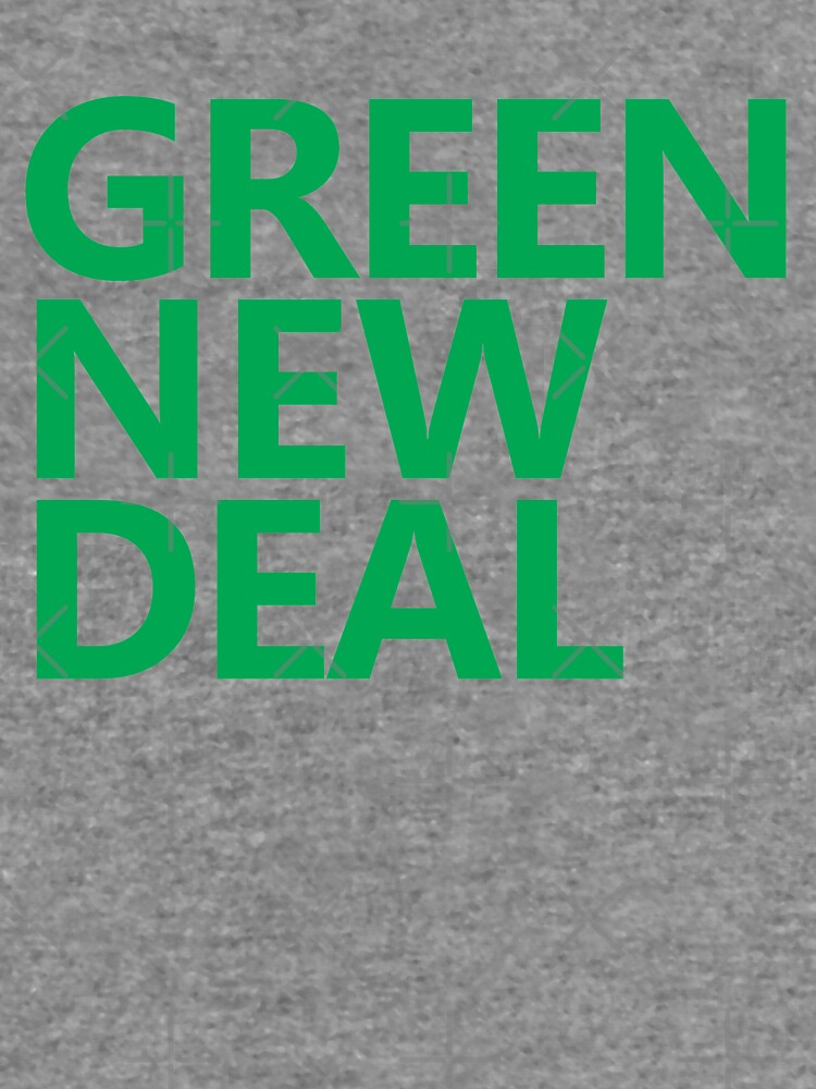 Green New Deal - Green Text by willpate