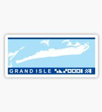 Grand Isle - Louisiana. Sticker