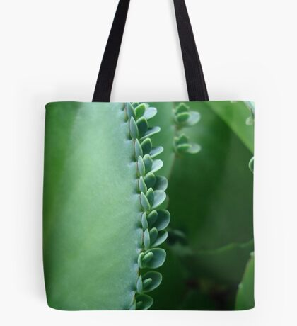 Butterfly Succulent Tote Bag