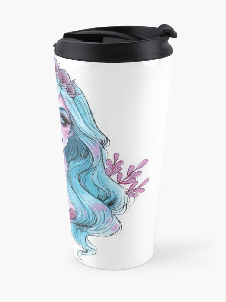 Alternative Ansicht von Perlglänzende Meerjungfrau Thermobecher