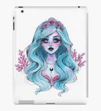 Perlglänzende Meerjungfrau iPad-Hülle & Klebefolie