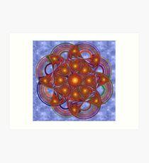 Wheel of Paradigms Art Print