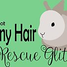 IT'S NOT BUNNY HAIR IT'S RESCUE GLITTER by Home4EveryBunny