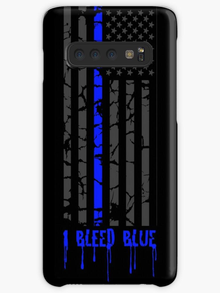 Dünne blaue Linie - ich blute blau von Chandler Milillo