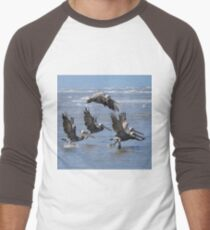 Brown Pelicans Take Flight T-Shirt