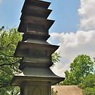 Pagoda, Japanese Gardens, Fort Worth, Texas, USA by ArtCooler