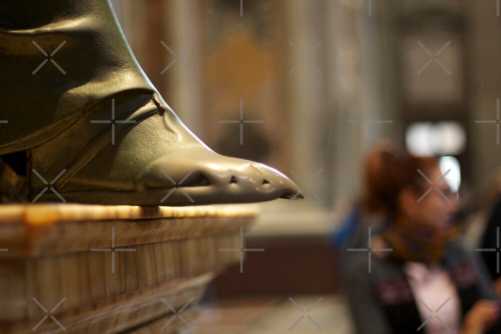 The Foot of St. Peter by Raquel Fletcher