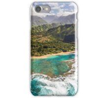 Tunnels Beach Kauai iPhone Case/Skin