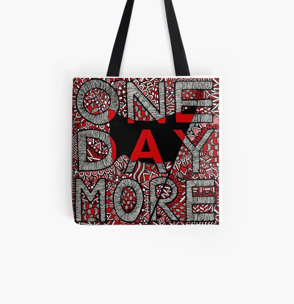 Les Miserables Zentangle All Over Print Tote Bag