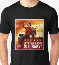 Lass uns über sechs Babys reden Slim Fit T-Shirt