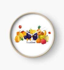 fruits tropicaux Horloge